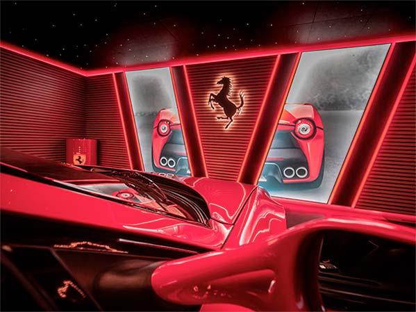agencement garage haut de gamme