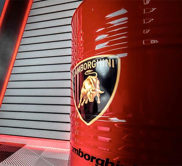 bidon personnalisé garage haut de gamme