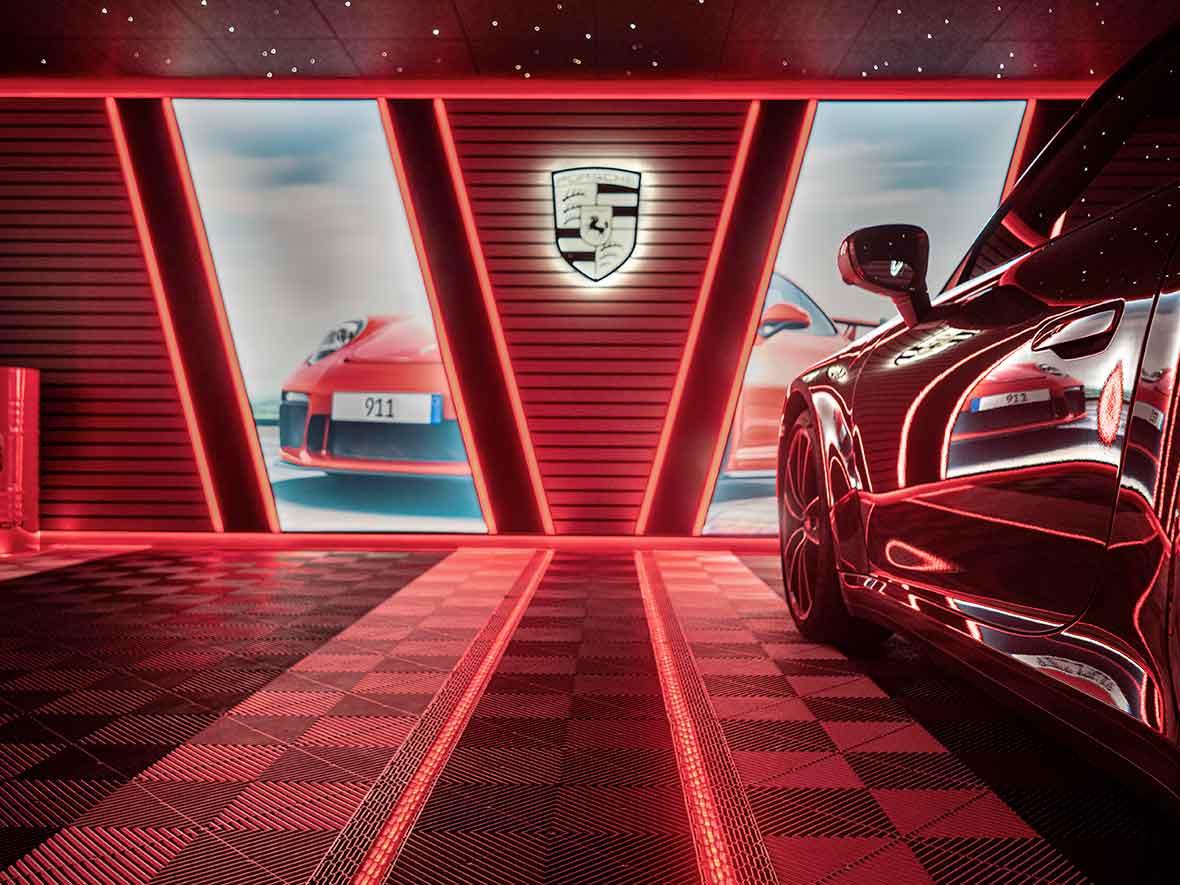 carea design garages luxe porsche
