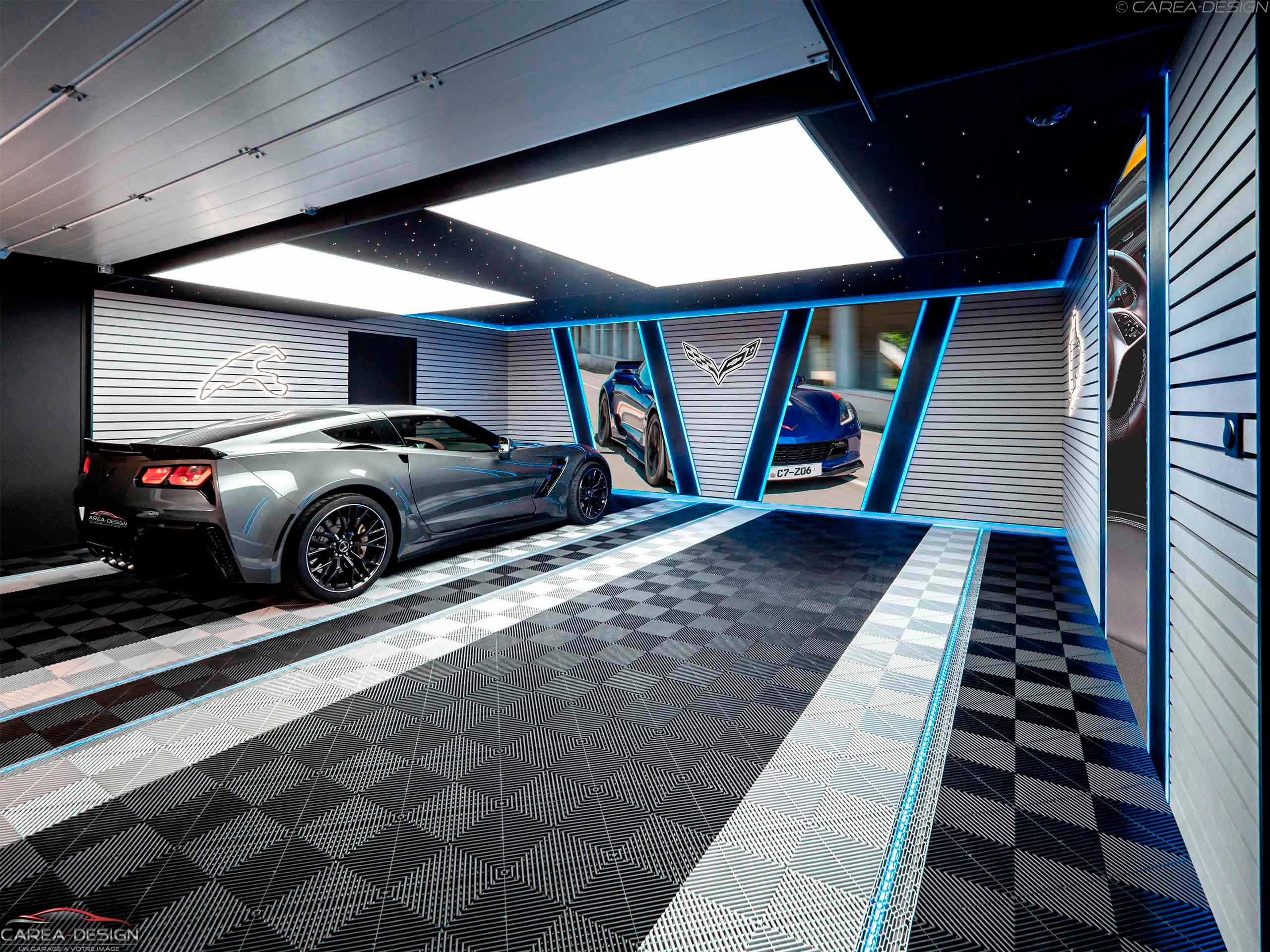 création garage sur-mesure corvette carea-design