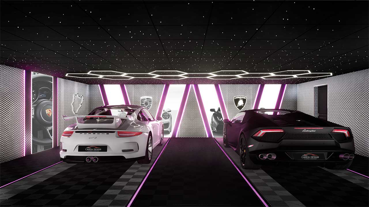 carea design garages luxe