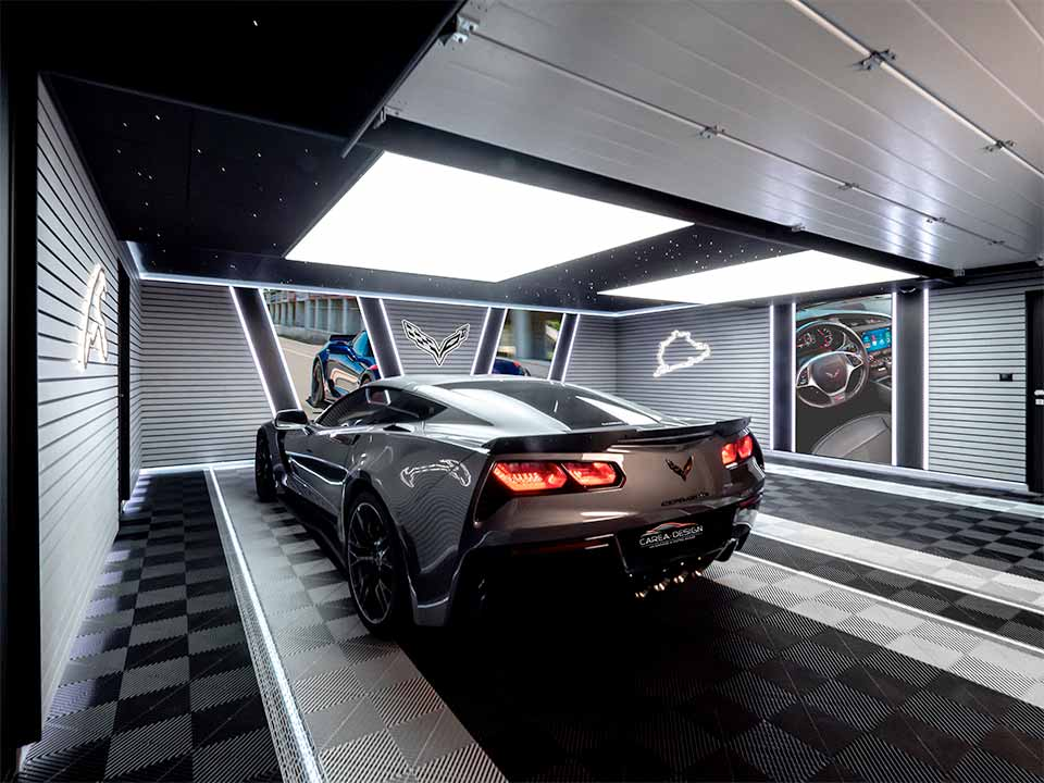 réalisation garage corvette carea-design